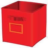 Red cube storage
