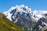 Caucasus rockies in Russia