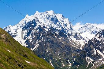 Caucasus rockies in Russia