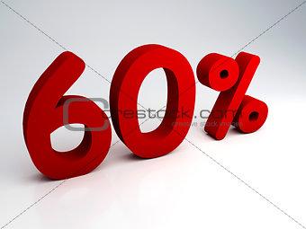 60 percent sale