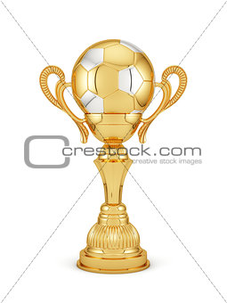 Football golden cup