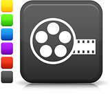 film canister icon on square internet button