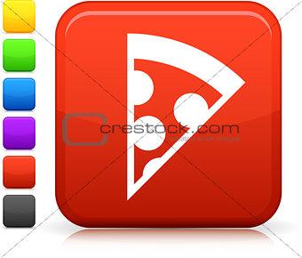 slice of pizza icon on square internet button