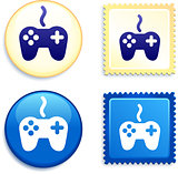 Controller Stamp and Button
