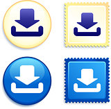 Download Icon Stamp and Button