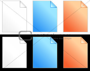 Blank Paper Set