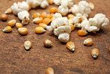 Popcorn and kernels
