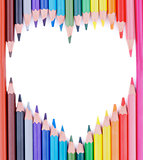 Heart of Colored Pencils