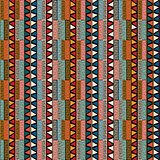 Strip ethnic seamless pattern