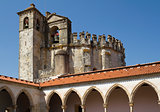 Round Church over Gothic Cloister, Tomar