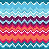 Tribal aztec zigzag seamless pattern