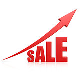 Sale arrow