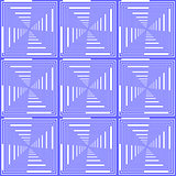 Design seamless blue checked pattern. Abstract geometric backgro