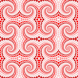 Design seamless colorful twirl movement pattern. Abstract decora