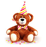 3d teddy bear party