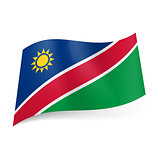 State flag of Namibia
