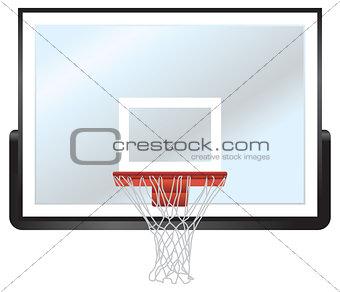 Basketball Rim and Backboard
