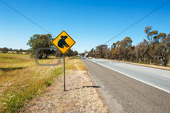 Koala warning