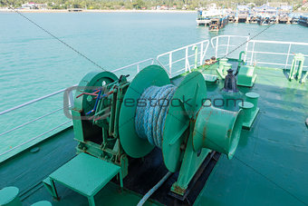 Winch anchor