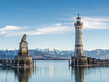 port entrance lake constance