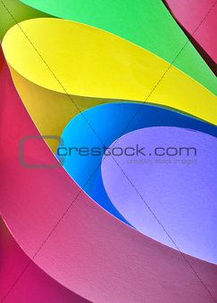 abstract colored paper
