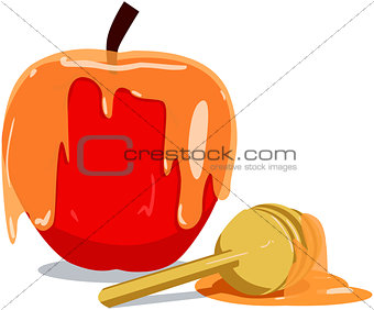Apple And Honey For Rosh Hashanah