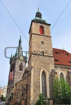 Prague. Church of St Jindrich and St.Kunguta