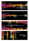 color leaflet glamorous nights