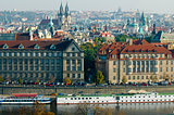 general view of Prague