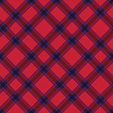 Seamless diagonal tartan texture