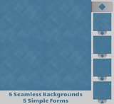 5 Seamless Backgrounds