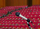 Microphone in  Lecture Hall