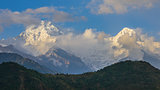 The Annapurna South and the Hiunchuli