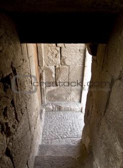 Amman Citadel, Al-Qasr site in Jordan - detail