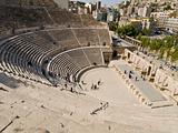 Roman amphitheater in Amman, Jordan
