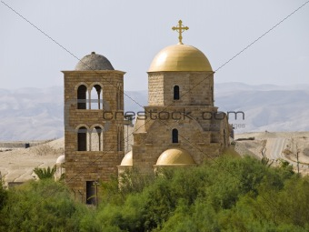 Place where Jesus was baptised in Bethany, Jordan