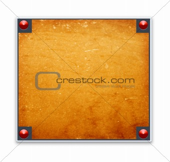 border frame with wood texture