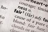 Dictionary Series - Philosophy: fair