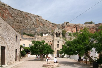 Castle Town of Monemvasia