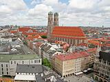 Munich Old City from Above