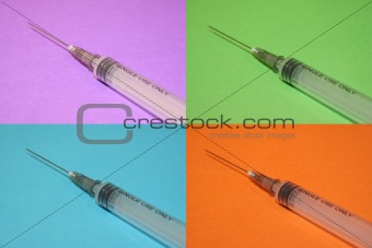 4 Syringes