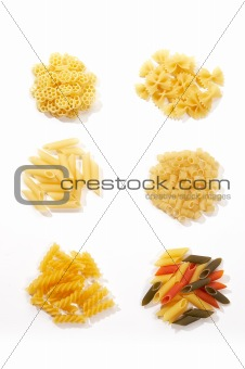 assorted macaroni-pasta