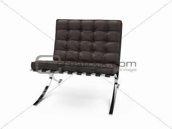isolated modern furniture view