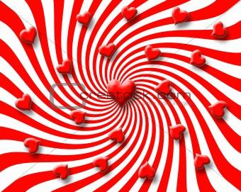 candy heart vortex