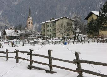 Church in Sachsenburg, Austria