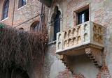 Julliet's balcony in Verona