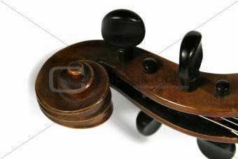 Cello Scroll Detail