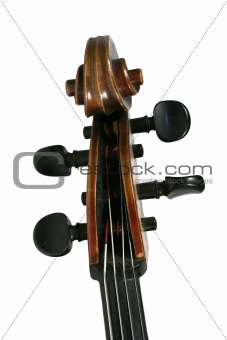 Cello Scroll