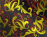 Background with swirls