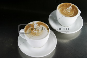 Cappucinno with Latte Art